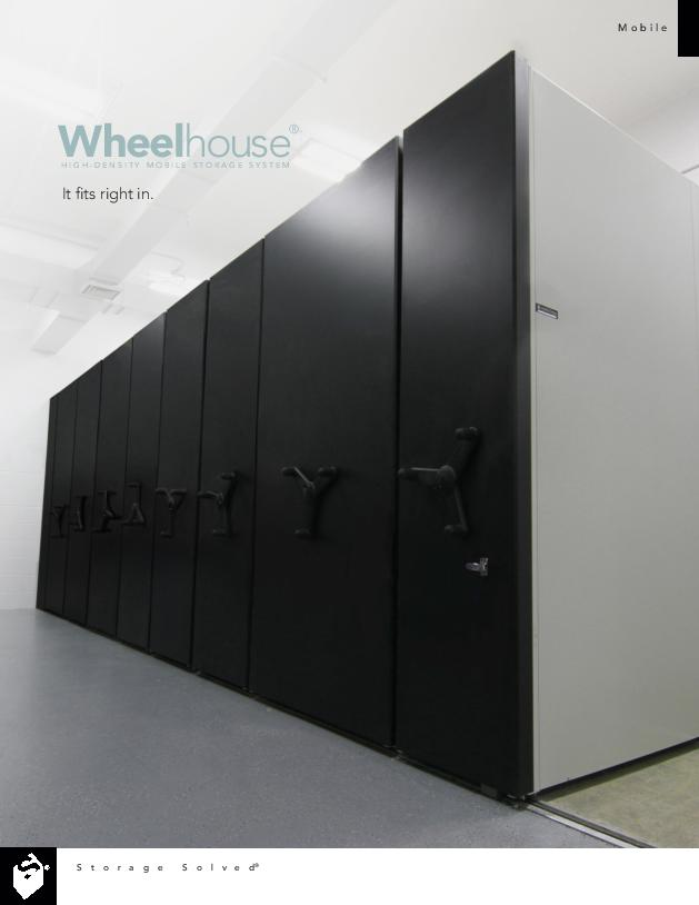 Wheelhouse® Low-Profile Moving Shelving Systems