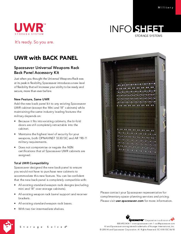 Universal™ Weapon Rack – UWR®