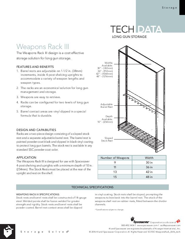 Weapon Rack III