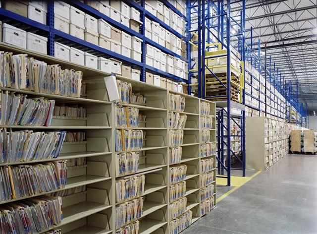 High-Density Shelving Storage at CITI Static Shelving Cantilever Library Shelving Cantilever Shelves Cantilever Shelving System Business Archive Storage Business Filing System Business Storage Document Storage High Density File Storage Office Storage Shelving