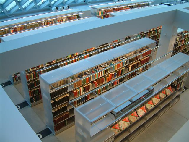 Book Stacks at Seattle Public Library Static Shelving Cantilever Storage Cantilever Shelves Cantilever Shelf Education Library Shelving Library Book Shelving Library Storage Library Book Cases Library Shelving Systems Library Storage Systems Compact Library Shelving Modern Book Shelving Book Spiral Book Stacks Seattle, WA Seattle Public Library Sustainable Storage LEED