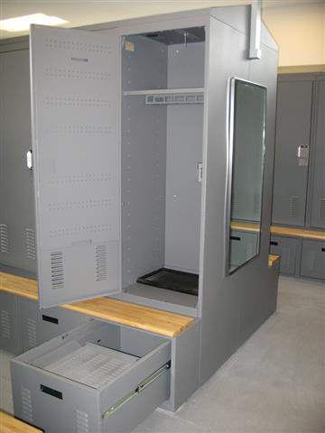 Freestyle Lockers - Carbondale Police Department Lockers Equipment Locker Storage Locker Locker Storage Public Safety Gun Locker Police Lockers