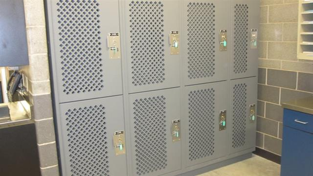 Tactical Readiness Lockers - Carbondale Police Department Lockers Equipment Locker Storage Locker Locker Storage Public Safety Secure Storage Gun Storage Cabinets Diamond Perforation Lock Options Ventilation