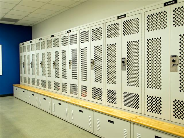 Tactical Gear Lockers Spacesaver Lockers Storage Locker Equipment Locker Public Safety Secure Storage Franklin Police Department Franklin, TN